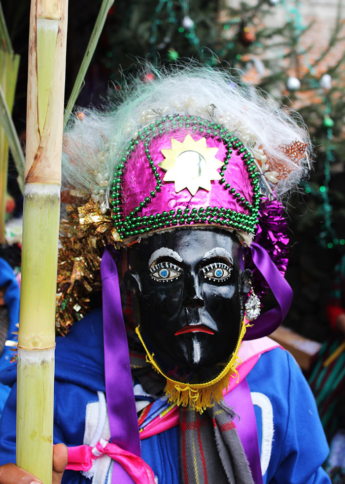 Negrito Mask Nurio Michoacan