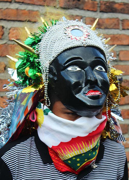 Negrito Mask Ocumicho Michoacan
