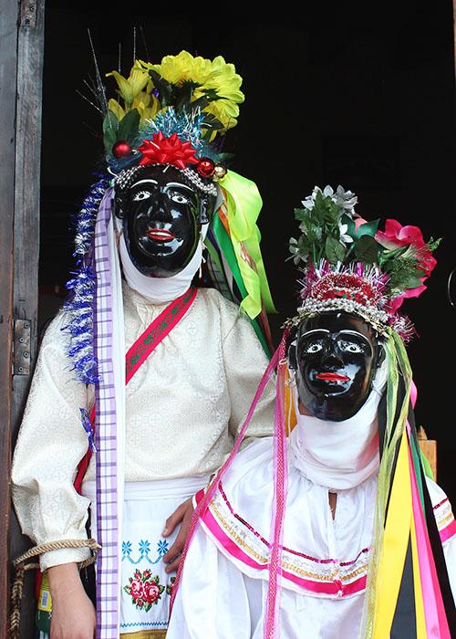 Negrito Mask San Lorenzo Michoacan