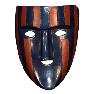 Máscara de Cojo, El Pochó, Tabasco México
