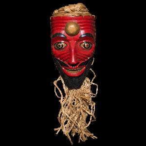Máscara de Goliat (vivo), David y Goliat, Tabasco México