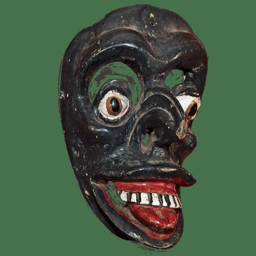 Máscara de Negrito, Tejórones, Oaxaca México