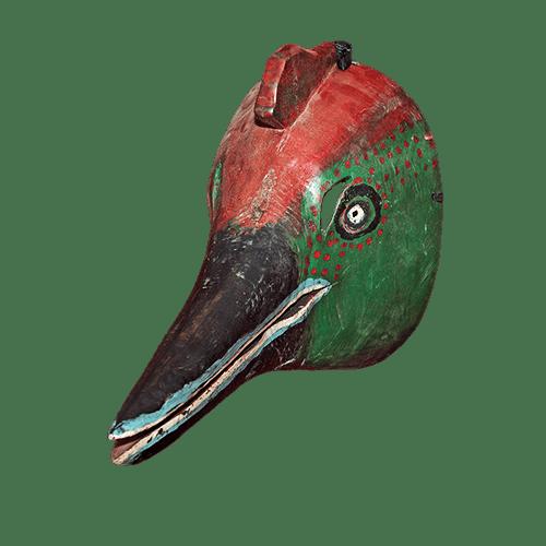 Máscara de Pájaro, Carnaval, Hidalgo México